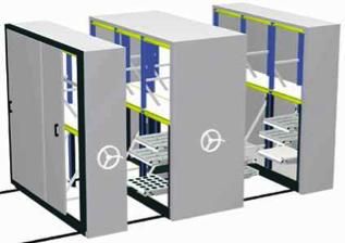 Estructura archivadores móviles