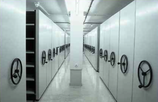 Archivos Móviles doble con pasillo